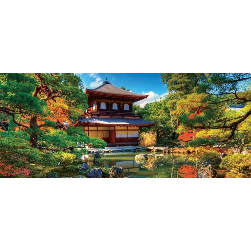 Japán kert vlies poszter, fotótapéta 653VEP /250x104 cm/