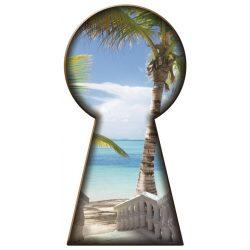 Kulcslyuk vlies poszter, fotótapéta 713VEZ3 /98x205 cm/