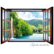 Kilátás az ablakból vlies poszter, fotótapéta 716VEZ4 /201x145 cm/