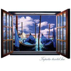 Kilátás az ablakból vlies poszter, fotótapéta 718VEZ4 /201x145 cm/