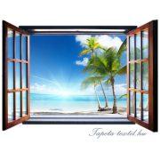 Kilátás az ablakból vlies poszter, fotótapéta 720VEZ4 /201x145 cm/