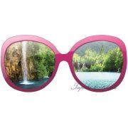 Szemüveg vlies poszter, fotótapéta 722VEZ5 /205x92 cm/