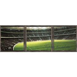 Stadion ablakon át ablakból vlies poszter, fotótapéta 740VEEXXXL /832x254 cm/