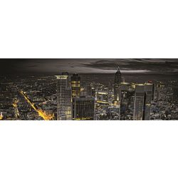 Éjszakai város vlies poszter, fotótapéta 743VEEXXL /624x219 cm/