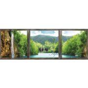 Laguna ablakból vlies poszter, fotótapéta 787VEEXXXL /832x254 cm/