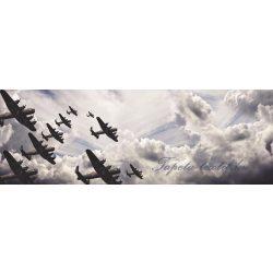 Repülők vlies poszter, fotótapéta 791VEEXXL /624x219 cm/