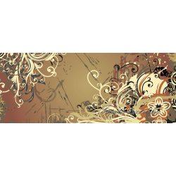 Ornament vlies poszter, fotótapéta 8-008VEP /250x104 cm/