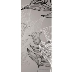 Virág minta vlies poszter, fotótapéta 8-009VET /91x211 cm/