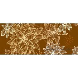Virág minta vlies poszter, fotótapéta 8-015VEP /250x104 cm/