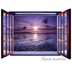 Ablakból a kilátás vlies poszter, fotótapéta 821VEZ4 /201x145 cm/