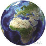 Planéta vlies poszter, fotótapéta 873VEZ1 /208x208 cm/