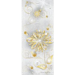 Virág minta vlies poszter, fotótapéta 883VET /91x211 cm/