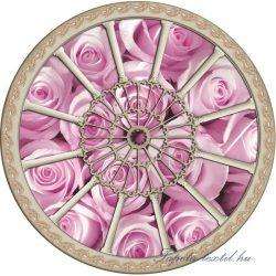 Rózsák vlies poszter, fotótapéta 910VEZ1 /208x208 cm/