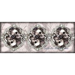 Koponyák vlies poszter, fotótapéta 977VEP /250x104 cm/