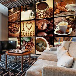 Fotótapéta - Coffee - Collage