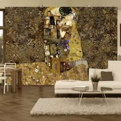 Fotótapéta - Klimt inspiration: Golden Kiss
