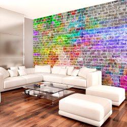Fotótapéta - Rainbow Wall