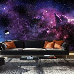 Fotótapéta - Purple Nebula