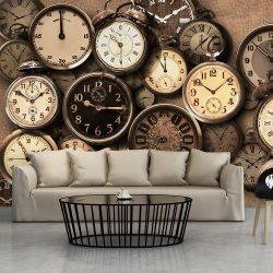 Fotótapéta - Old Clocks