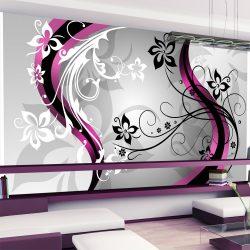 XXL Fotótapéta - Art-flowers (pink)