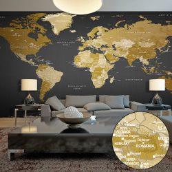 XXL Fotótapéta - World Map: Modern Geography II