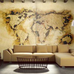 """Fotótapéta - Aranyásó """"világtérkép"""