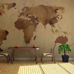 Fotótapéta - Tea világtérkép