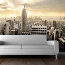 Fotótapéta - New York - Manhattan hajnalban