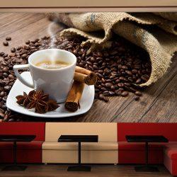 Fotótapéta - Star anise coffee