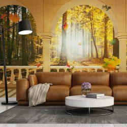 Fotótapéta - Dream about autumnal forest