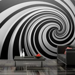 XXL Fotótapéta - Black and white swirl