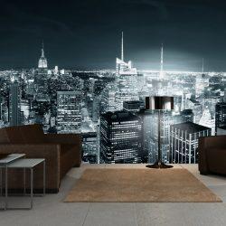 XXL Fotótapéta - New York City éjszakai élet