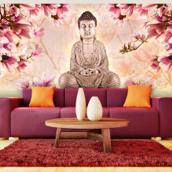 XXL Fotótapéta - Buddha and magnolia