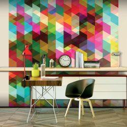 Fotótapéta - Colourful Geometry