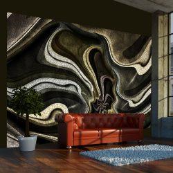 Fotótapéta - Green and brown textured fractal