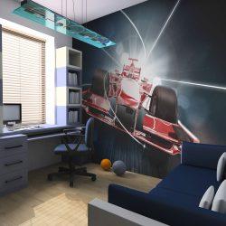 Fotótapéta - Sebesség és dinamikája Formula 1
