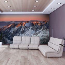 Fotótapéta - Beautiful sunrise in the Rocky Mountains