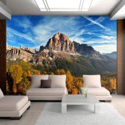 Fotótapéta - Panorámás kilátás az olasz Dolomitok