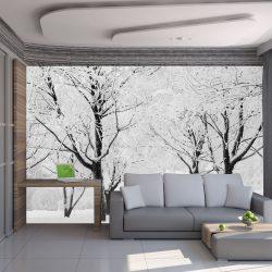 Fotótapéta - Fák - téli táj