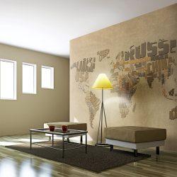 """Fotótapéta - Explorers """"térkép a világ"""