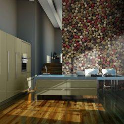 Fotótapéta - Mozaik színes bors