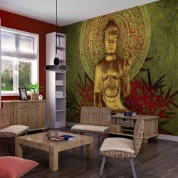 Fotótapéta - Arany Buddha