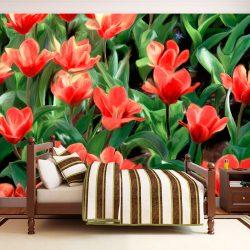 Fotótapéta - Painted flowers