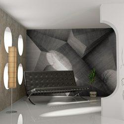 Fotótapéta - Absztrakt beton