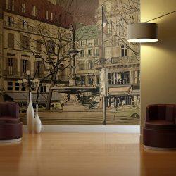 Fotótapéta - Párizsi szökőkút