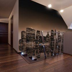 Fotótapéta - New York - sepia