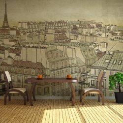 Fotótapéta - Viszlát Párizs!
