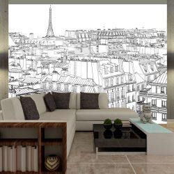 Fotótapéta - Párizsi a vázlatfüzet