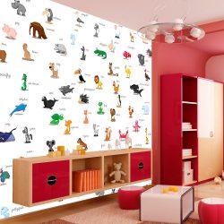 Fotótapéta - animals (for children)