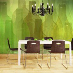 Fotótapéta - Zöld üveg